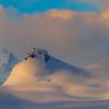 Soft Subtle Rolling Snow Hills