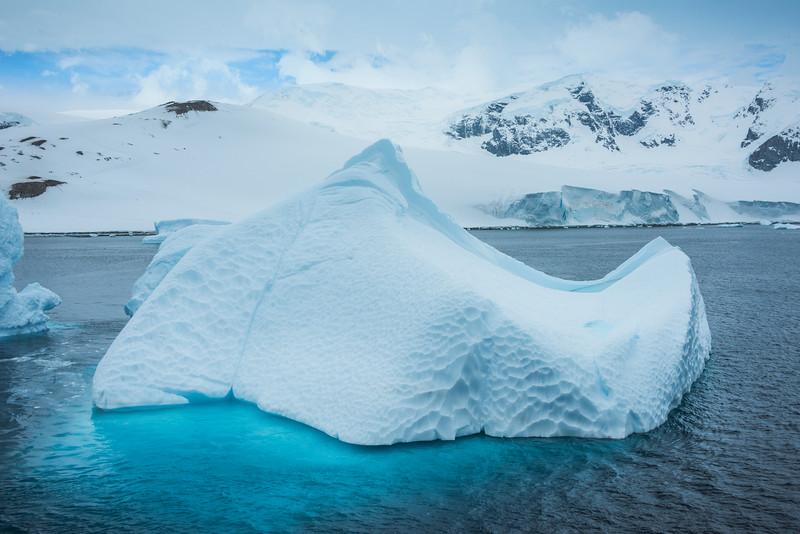 Transculent Blue Icebergs