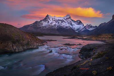 images from thef fifth day of Adamus photo tour In Torres Del Paine