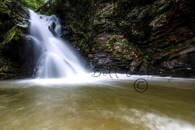 Brasstown Falls in SC
