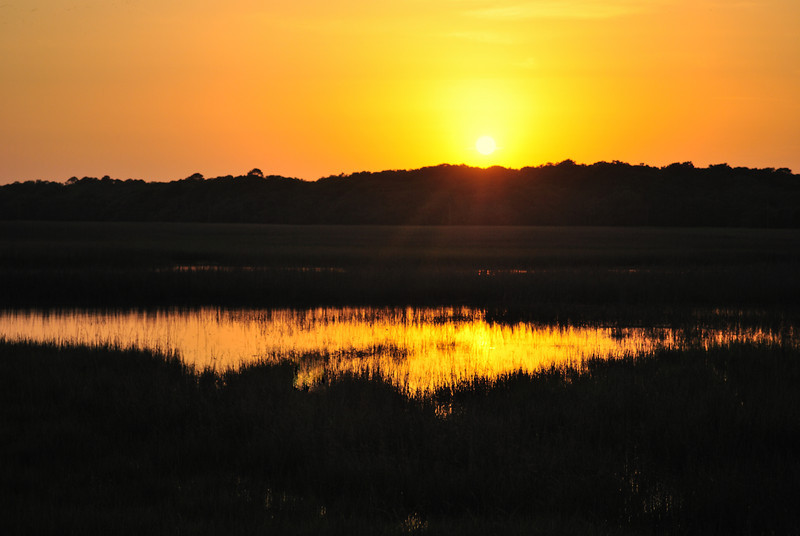 Sunset, Edisto Beach SP