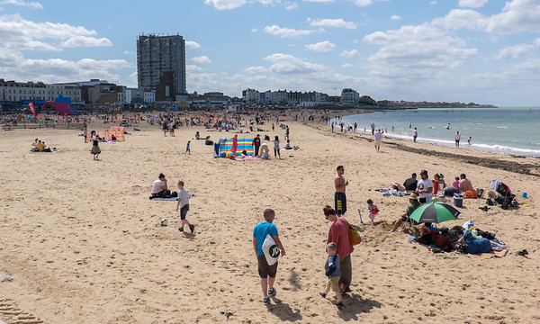 Margate Beach in May