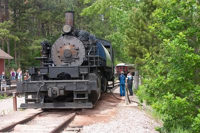 Steam Locomotive 110