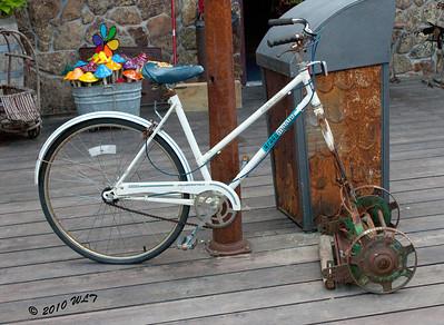Bike/Mower,  Seemed rather ingeines.