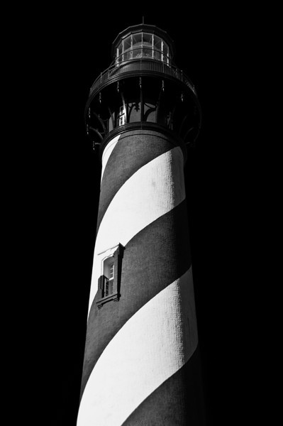 Lighthouse in St. Augustine, Florida.