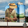 Agricultural Icon Mural,  Charlie Johston, Muralist