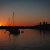 Sunrise on the waterways in St. Augustine, Florida