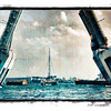 Draw bridge in Fort Lauderdale, Florida.