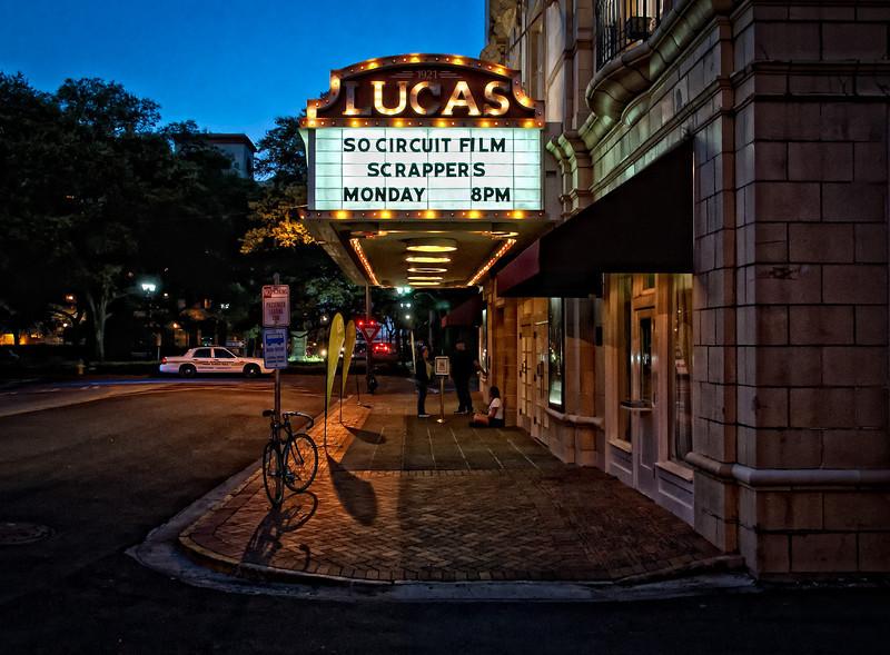 Lucas Theatre in historic Savannah, Georgia.
