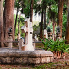 Cemetery at Mission of Nombre de Dios, St. Augustine, Florida