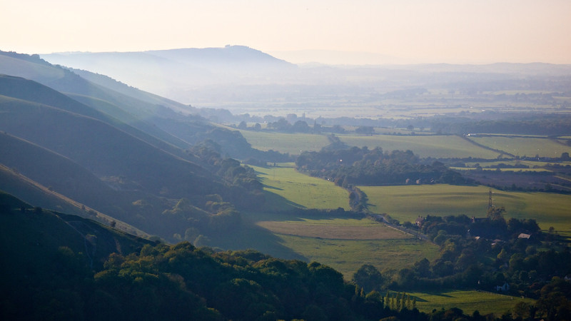 A view west from Devils Dyke