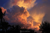 Storm clouds at sunset, Marathon Key