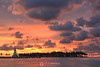 Stormy lighthouse sunset, Marathon FL