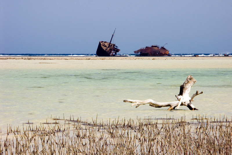 Nabq protected area, Maria Schroeder ship wreck