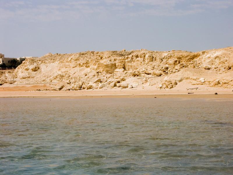 Pleistocene reef, Ras Ghamila