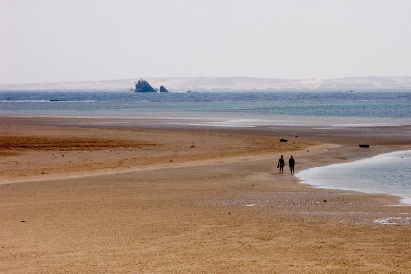 Ras Ghamila, tidal flat