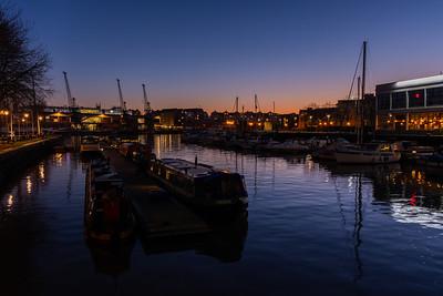 Bristol Harbour - Sunset