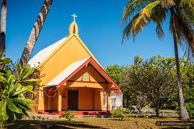 Tetamanu Church Grounds