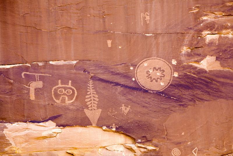 Anasazi Pictographs