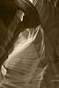Sepia antelope canyon southwest;