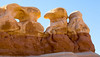 HooDoos look like Rabbits Devels Garden Southwest; landscape;
