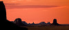 Monument Valley RED SKY Southwest; landscape;