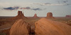 The Mittens at Monument Valley two rocks Southwest; landscape;