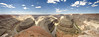 Goosenecks pan Southwest; landscape;
