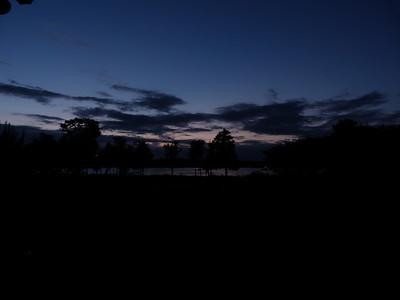 2011 July 16 sunset at shore