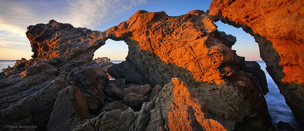 Solstice Arch just outside of Los Angeles, California
