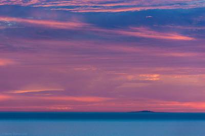 Santa Barbara Island Sunset - Channel Islands National Park