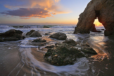 Revolving Ocean Malibu, California Southern California near Los Angeles