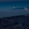 South Bay Moonrise Aerial #1