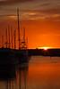 Sunset, Redondo Beach Harbor, Redondo Beach, CA