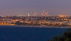 Downtown Los Angeles, viewed at night from Palos Verdes.