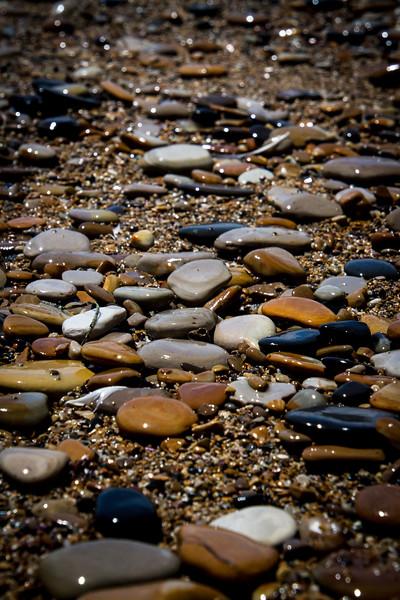 Ocean stones.