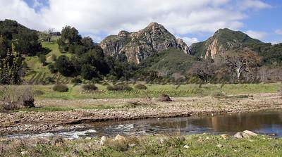 Malibu Creek & mtns