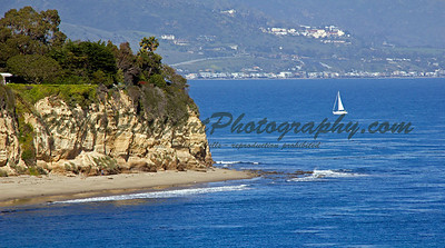 Pt Dume sailboat