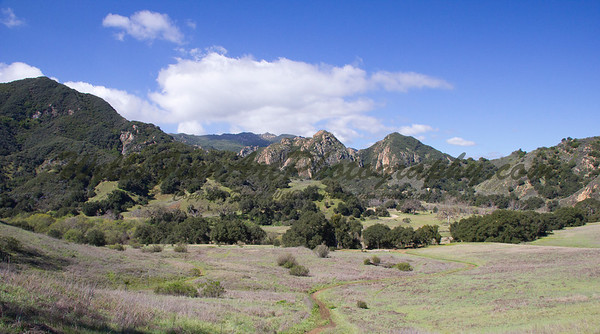 Malibu Creek vista