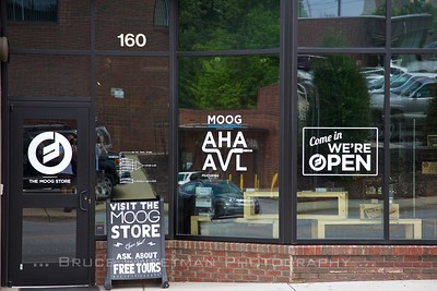 The Moog Store in Asheville