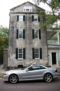 Old House; New Car