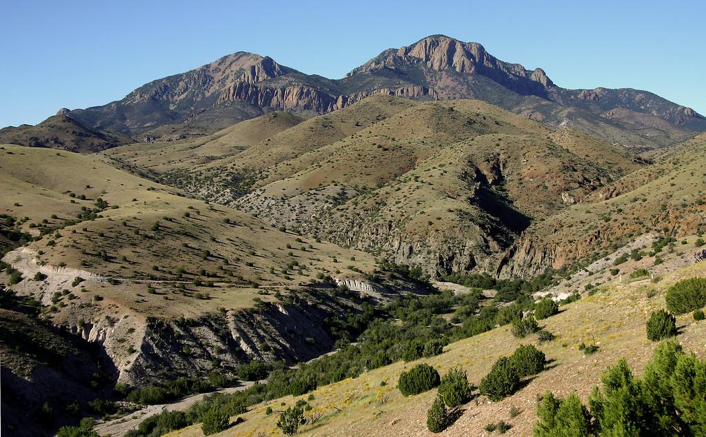 Southern San Mateo Mountains