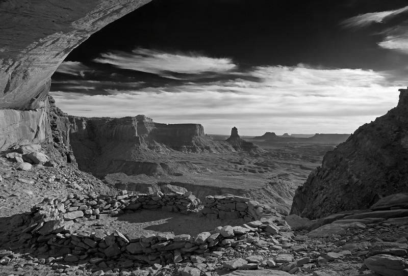 False Kiva, Canyonlands NP