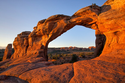 Broken Arch, Arches NP