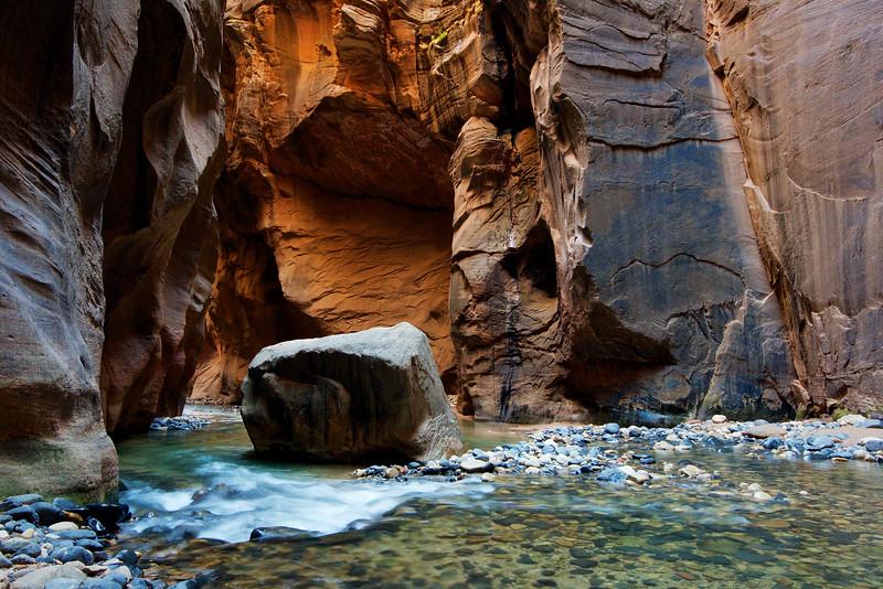 Virgin River Narrows, Zion National Park