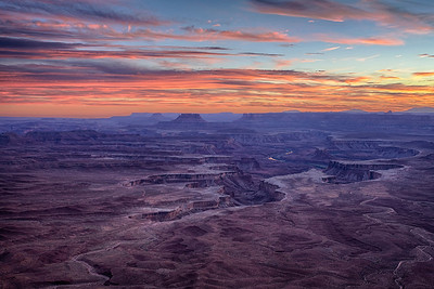Green River Overlook Sunset, Canyonlands NP