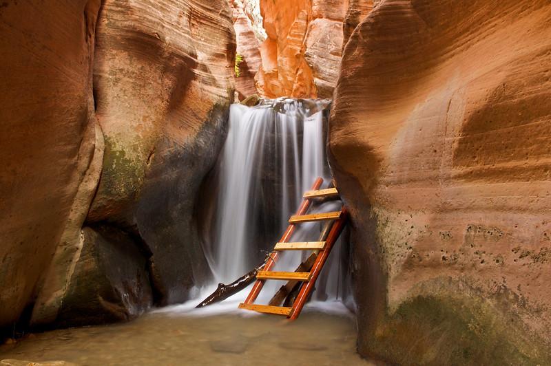 Upper Kanarra Creek Falls, Kanarraville, Utah