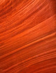 Slot Canyon (Peekaboo) Wall, Navajo Sandstone