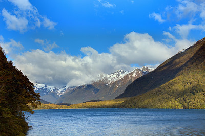 Between Te Anau and Milford Sound, Fiordland, New Zealand