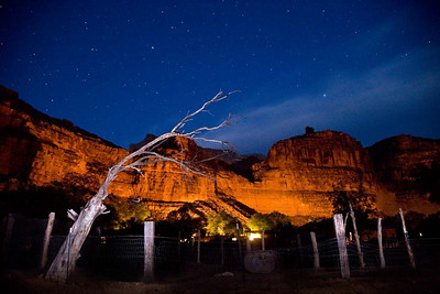 Night Sky Over Supai Village
